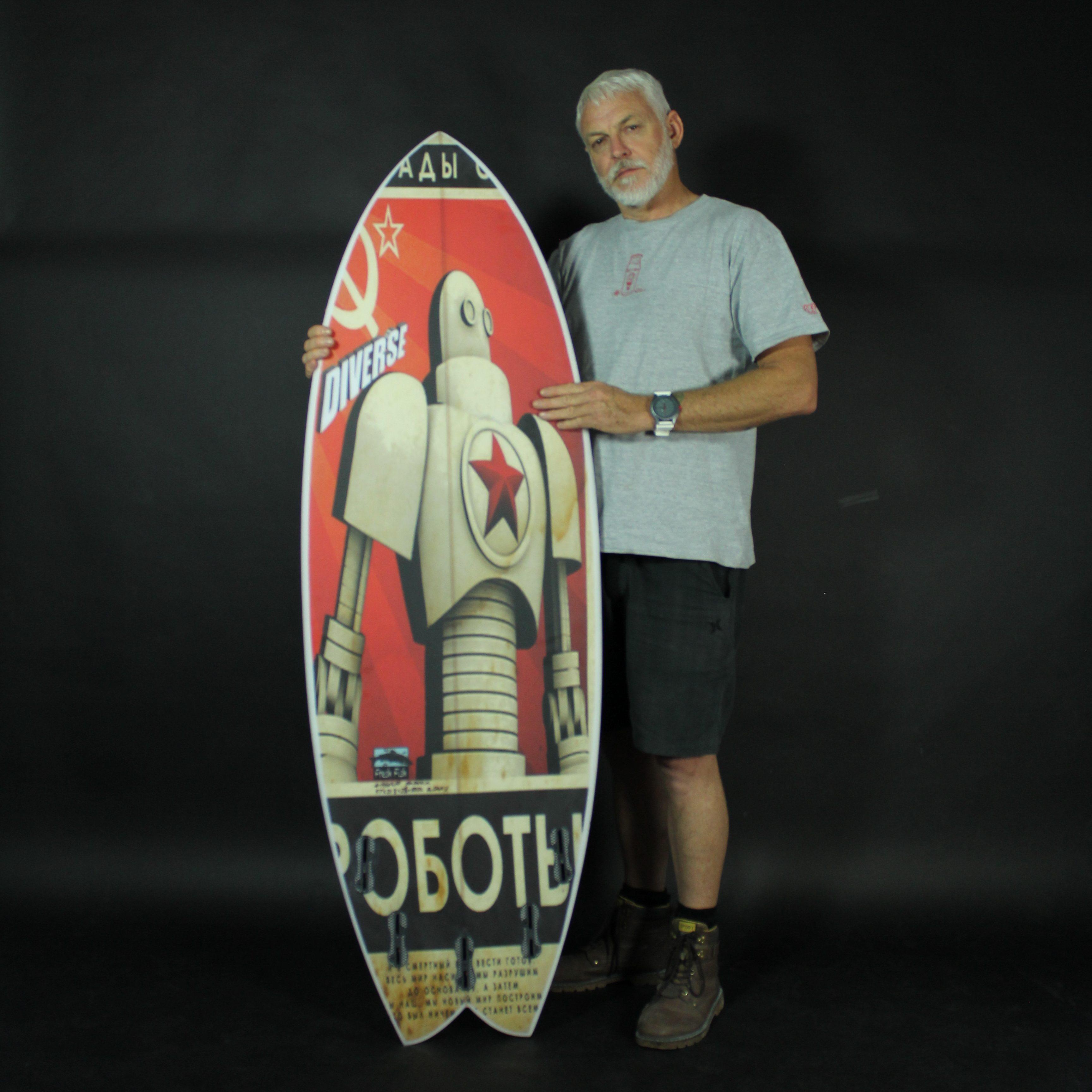 Creative Surfboard art applications